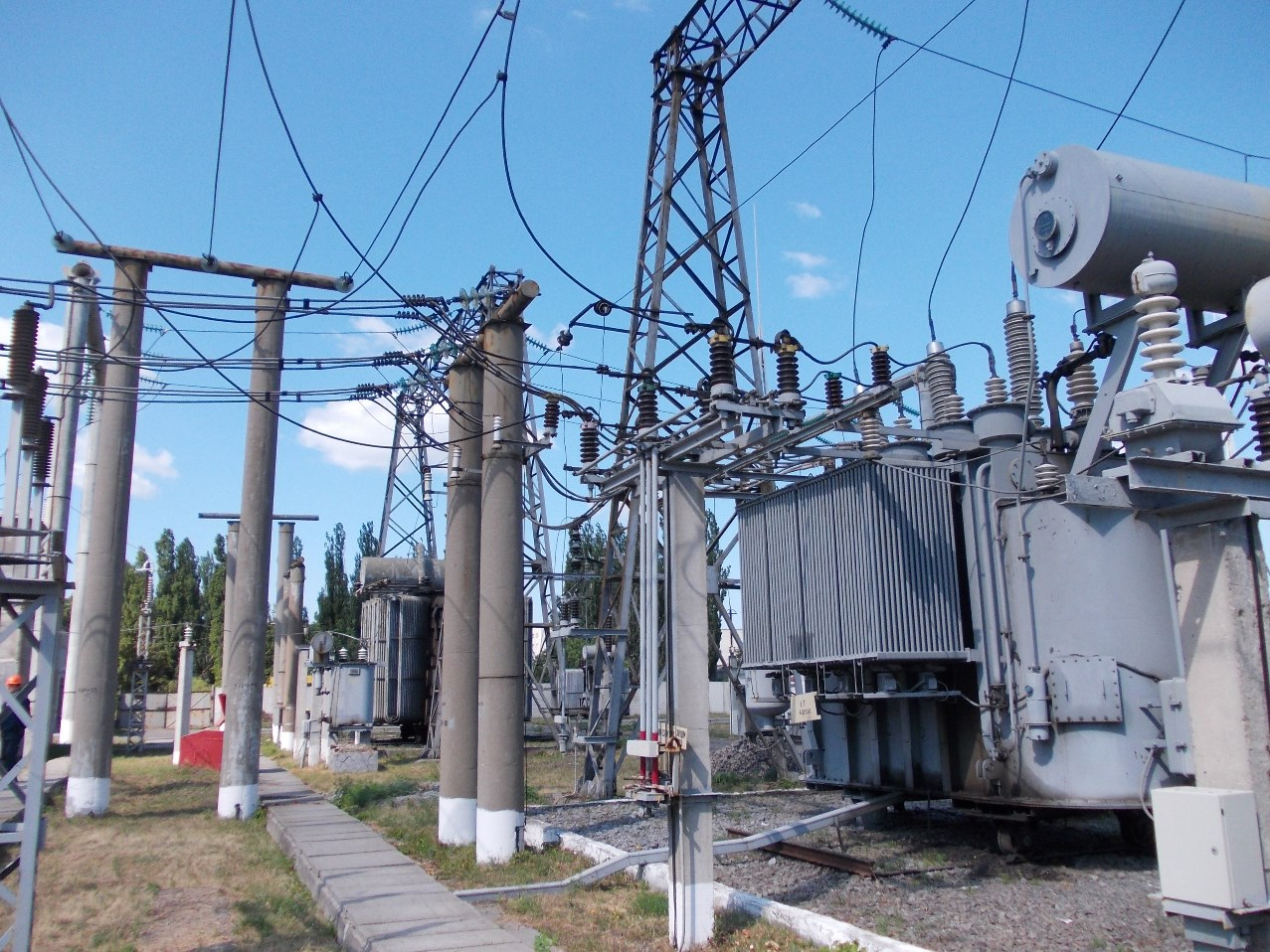 Substation reconstruction